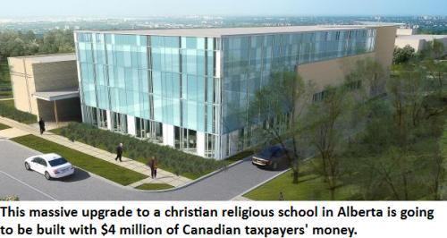 Harper christian fundamentalist school Alberta
